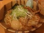 「味玉らーめん(白濁醤油)」@麺屋青山 臼井店の写真