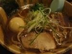 「味玉らーめん(豚骨魚介)」@麺屋 青山 本店の写真