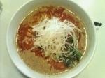 「担々麺¥730+半チャーハン¥200」@中華麺食堂 日月飯店の写真