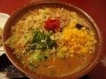 「みそ野菜大盛+ミニ炒飯」@だるまや 竹尾店の写真