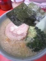 「ラーメン醤油 (カタメ・超コッテリ) ¥500」@ラーメンショップ 薮塚店の写真
