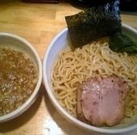「つけ麺 750円+大盛 100円」@○心厨房の写真