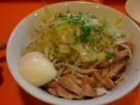 「油そば(醤油味・カラメ・ニンニク・ねぎ増し)750円」@ちばからの写真