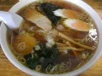 「ワンタンメン 650円」@朝日屋食堂の写真
