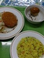 「素ラーメン+麺定食+味玉」@東京大学 中央食堂の写真