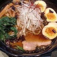 「玄麺 + 味付け煮玉子」@あら田の写真
