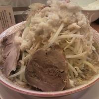 「野郎ラーメン+ニンニク+野菜増し+アブラ」@重厚煮干中華そば 大ふく屋 川口店の写真