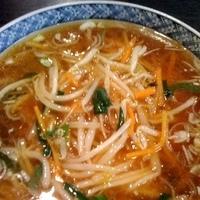 「もやしあんかけそば(¥680)」@中国料理 味彩の写真