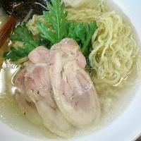 「鶏塩らー麺 ¥900」@厚木本丸亭の写真