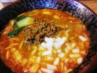 「坦々麺780円」@ラーメン一筋 めん商人 南守谷店の写真