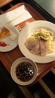 「シェフのお勧めセット(つけ麺)」@Vulcania Restaurantの写真