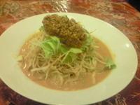 「冷やし坦々麺(780円)」@紅龍閣 布佐店の写真