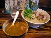 「「合鴨つけ麺ストロング(¥900)」」@らーめん・つけめん いつ樹の写真