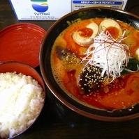 「担炭麺(ライス付き)780円」@らーめん こげんの写真