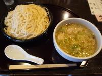 「豚しゃぶつけ麺」@江戸YAの写真