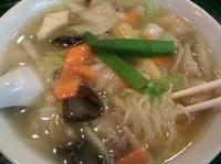 「海鮮健美湯麺 1029円」@百香亭 守谷店の写真