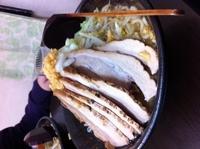 「馬鹿豚ふじ麺 1000円」@麺屋 にし田の写真