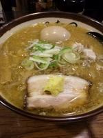 「味噌ラーメン(名物味玉)【950円】」@麺武 虎龍の写真