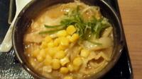 「めんこい味噌ラーメン<ミニ>(504円)」@北の味紀行と地酒 北海道 浦和店の写真