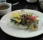 「野菜カレー」@ムッシュ ヨースケの写真