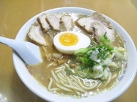 「煮干しチャーシューメン」@熊本ラーメン 麺王の写真