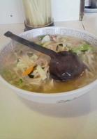 「タンメン(600円)」@中華料理 やまやの写真