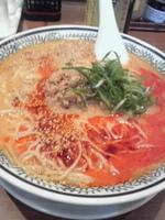 「クリーミー胡麻坦々麺」@丸源ラーメン 月見町店の写真