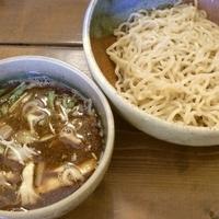 「黒煮干しつけ麺」@むろやの写真
