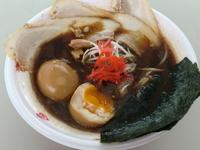 「信州34BLACK<極黒豚骨魚介らぅめん>+全部入り300円(信」@信越麺戦記 Part3 中京の章の写真
