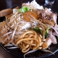 「まぜそば(辛い味) 750円」@麺屋 一心の写真