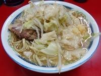 「小ラーメン(500円)ニンニクアブラ」@ラーメン二郎 目黒店の写真