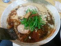 「味玉とんこつ醤油らーめん」@がちんこらーめん道 柊 貝塚本店の写真