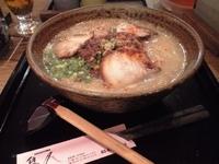「炎 大盛(850円+150円)」@鹿児島らーめん 隼人の写真