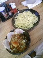 「つけ麺680円+叉焼二枚(クーポン)」@つけ麺 きくちゃんの写真