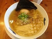 「味玉しおそば(¥830)」@麺や食堂の写真