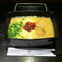 「天然とんこつラーメン(重箱酸味)(¥0)」@一蘭 キャナルシティ博多店の写真