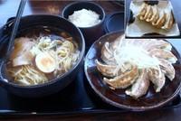 「浜松餃子とらーめんのセット997円」@五味八珍 メイワン店の写真
