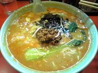 「黒胡麻担々麺¥850」@十八番の写真