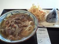 「肉ごぼうかけセット(690円)」@丸亀製麺 たまプラーザ テラス店の写真