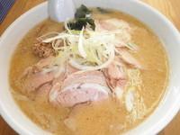 「味噌チャーシュー 750円」@ラーメンハウス 富良野の写真