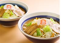「野菜ラーメン味噌 Bセット(唐揚げ付き)」@8番らーめん 城南末広店の写真