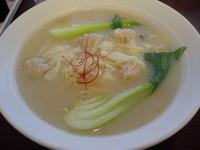 「エビワンタン麺」@天地人の写真