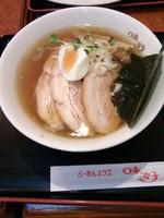 「支那そばチャーシュー麺」@らーめんハウス味好 宮原店の写真