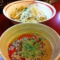 「西京味噌担々つけめん(¥850)」@京つけめん つるかめ六角の写真