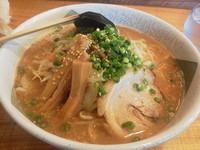 「味噌丸(大盛り)」@らーめん みそ丸 上田店の写真