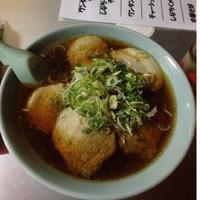 「チャーシューメン並」@駅前ラーメン ひげ 屋台店の写真