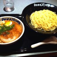 「豚そばつけ麺」@らあめん花月嵐 原町田店の写真