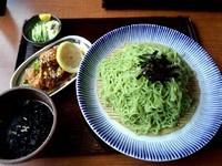 「冷やしつけ麺 匠(翡翠麺)」@つけ麺 ゆきむら吉衛門 松戸店の写真