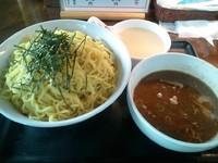 「つけ麺特盛(麺3玉) 930円」@くりやらーめんの写真