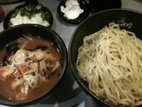 「極辛BLACKつけ麺 ・1辛(780円)」@極辛BLACKつけ麺 七代目けいすけの写真